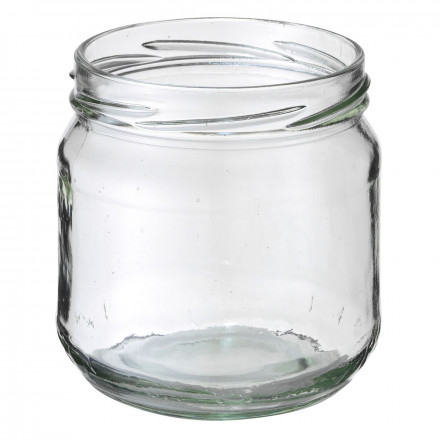 Monsterpot, conserven, 380 ml, glas, wit, TO 82