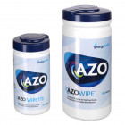 Disinfectant wipes, Azo-wipes®, 100 wipes/bucket